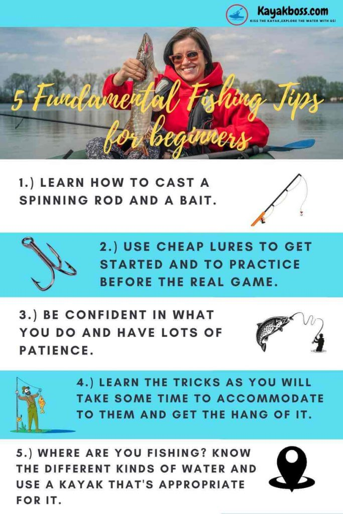 Fishing tips for beginners